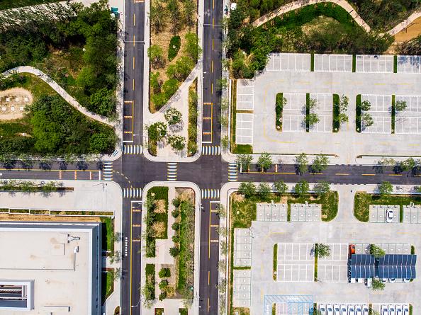 Baoding「Aerial View Of Citizen Service Center Of Xiong'an」:写真・画像(13)[壁紙.com]