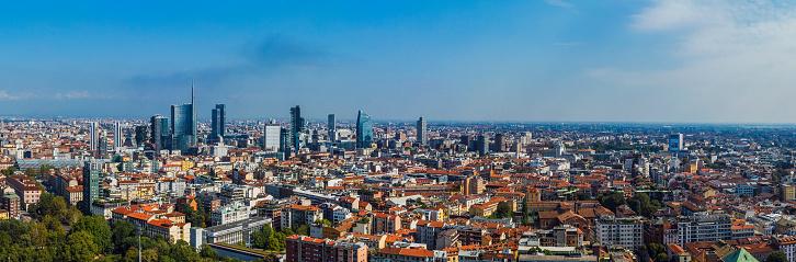 Milan「Aerial view of Milan, Italy」:スマホ壁紙(18)