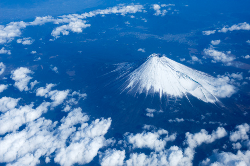 Satoyama - Scenery「Aerial View of Mt Fuji」:スマホ壁紙(17)