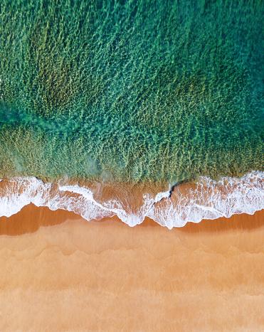 1980-1989「aerial view of the australian bondi beach」:スマホ壁紙(5)
