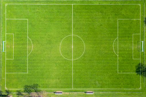 Yard Line - Sport「Aerial View of Soccer Field」:スマホ壁紙(5)