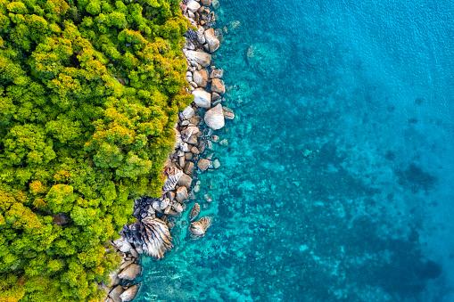 Island「Aerial view of Tioman Island」:スマホ壁紙(19)