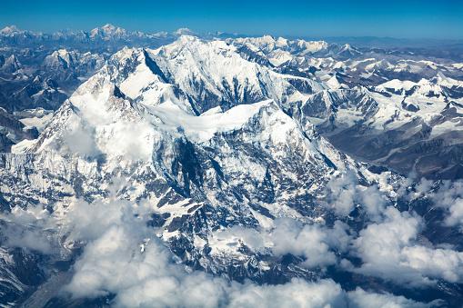 Dramatic Landscape「Aerial View of Mount Everest, Himalaya, Nepal」:スマホ壁紙(0)