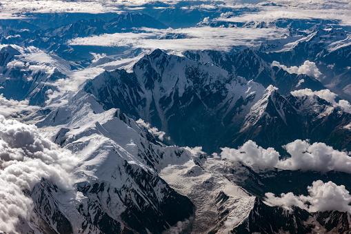 Himalayas「Aerial View of the Pakistani Mountains, Nanga Parbat, Pakistan, Himalayas, Central Asia」:スマホ壁紙(16)