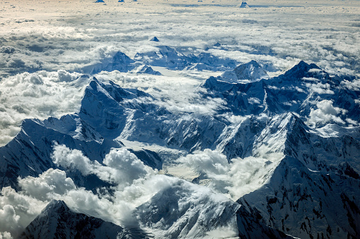 Himalayas「Aerial View of the Pakistani Mountains,Central Asia」:スマホ壁紙(15)