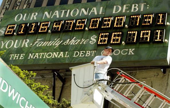 Debt「National Debt Clock」:写真・画像(6)[壁紙.com]