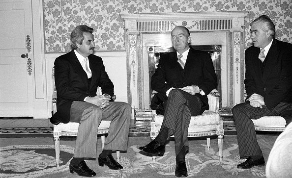 Republic Of Cyprus「President Patrick Hillery and Ambassador of the Republic of Cyprus Angelos Angelides at Aras an Uachtarain 1985」:写真・画像(4)[壁紙.com]