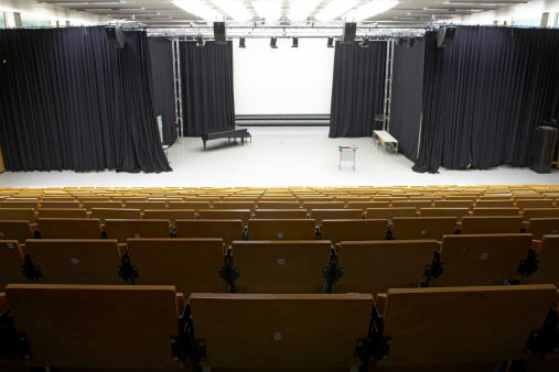 Stage Set「Lecture hall」:スマホ壁紙(16)