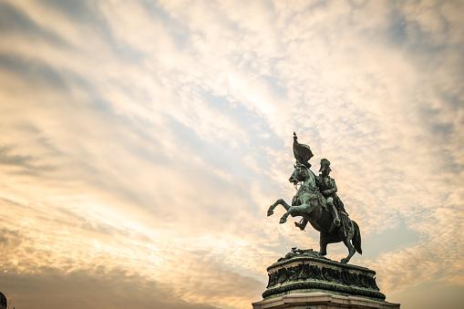 Horse「Sculpture of prince Eugene」:スマホ壁紙(14)