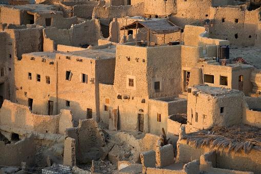 El Siwa「Siwa Oasis, Egypt; The 13th century mud-brick fortress of Shali」:スマホ壁紙(18)