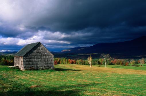 グリーン山脈「Approaching Storm in the Green Mountains, Vermont」:スマホ壁紙(6)