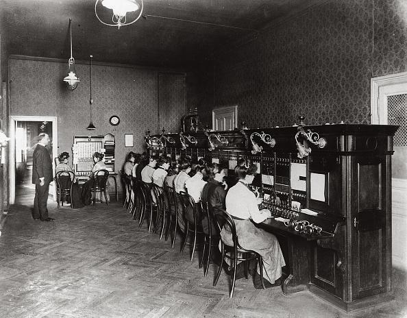 1900-1909「Phone Operators」:写真・画像(5)[壁紙.com]
