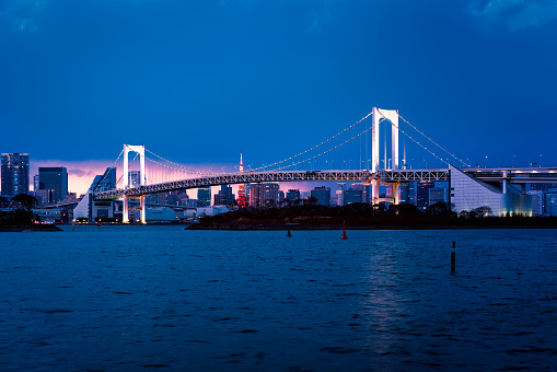 Tokyo Tower「Beautiful night view of Tokyo Bay」:スマホ壁紙(18)