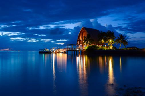 Sea「Beautiful Night of Maldives Island」:スマホ壁紙(12)