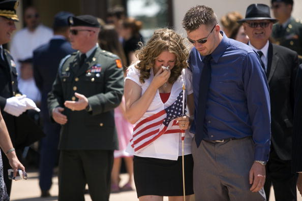 Rick Scibelli「Soldier Killed In Action Remembered In New Mexico」:写真・画像(2)[壁紙.com]