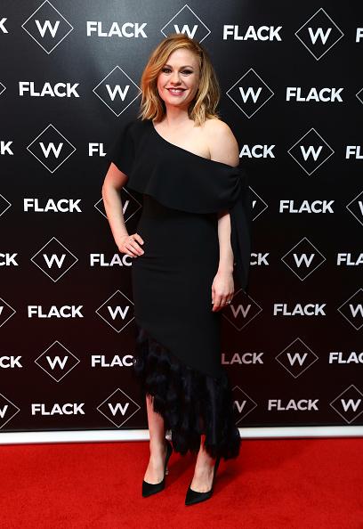 """アンナ パキン「""""Flack"""" UKTV Premiere - Red Carpet Arrivals」:写真・画像(7)[壁紙.com]"""