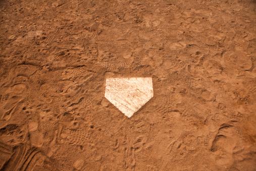 Leisure Games「Home base plate on the diamond」:スマホ壁紙(1)