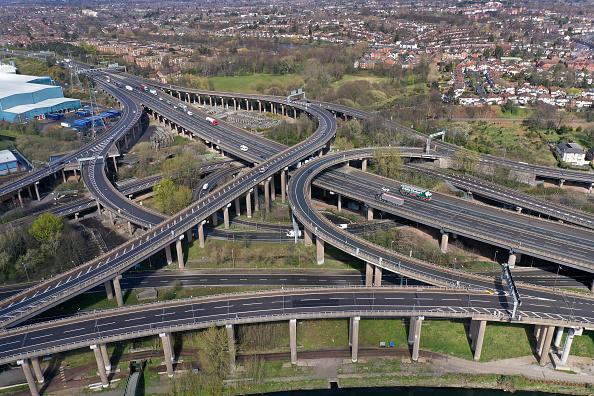 Traffic「UK On Lockdown Due To Coronavirus Pandemic」:写真・画像(6)[壁紙.com]