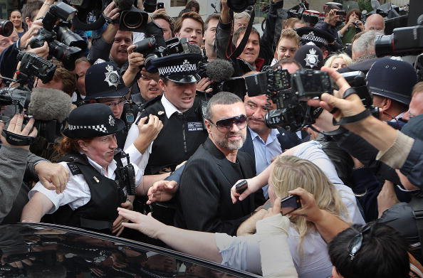 Human Body Part「George Michael Appears In Court Charged With Driving Offences」:写真・画像(17)[壁紙.com]