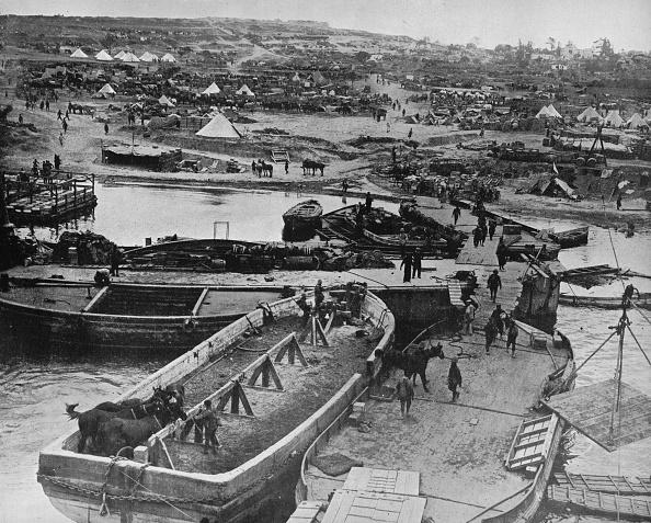 Horse「Landing Beach At Sedd El Bahr As British Troops Arrived On The Peninsula 1915」:写真・画像(2)[壁紙.com]