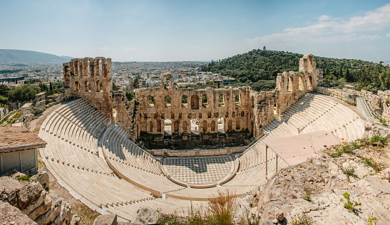 Amphitheater「Theatre of Herod Atticus. Athens, Greece」:スマホ壁紙(19)