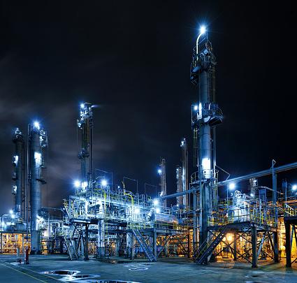 Pipeline「Oil Refinery」:スマホ壁紙(15)