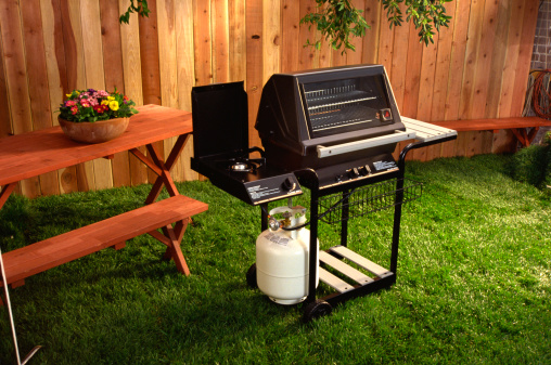 Barbecue Grill「Backyard barbecue grill」:スマホ壁紙(11)