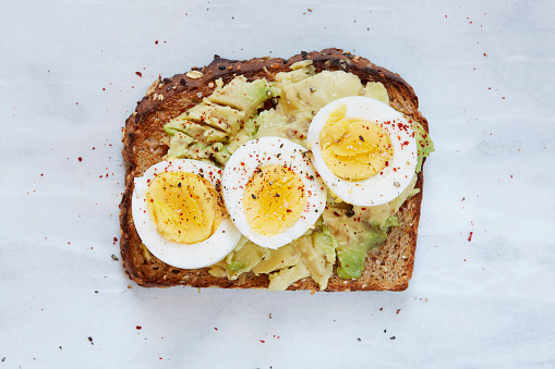 Pepper - Seasoning「Toasted bread with avocado and hard boiled egg」:スマホ壁紙(18)