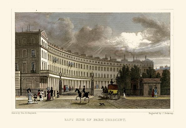 Regency Style「London Views:  East Side of Park Crescent」:写真・画像(8)[壁紙.com]