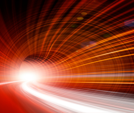 Cable「Abstract Speed motion in highway tunnel」:スマホ壁紙(14)