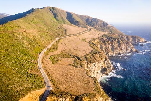 California State Route 1「Cliffs at Big Sur」:スマホ壁紙(2)