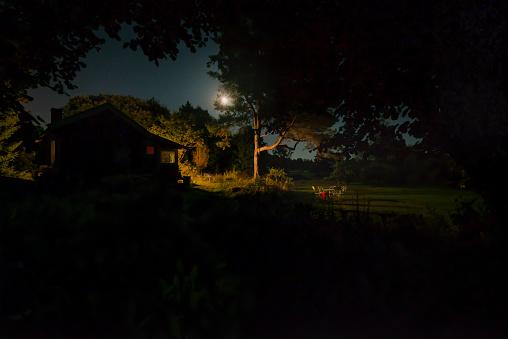 Moonlight「Small cabin in garden」:スマホ壁紙(17)