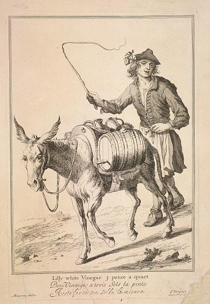 Condiment「'Lilly white Vinegar 3 pence a quart', Cries of London, (1688?). Artist: Anon」:写真・画像(10)[壁紙.com]