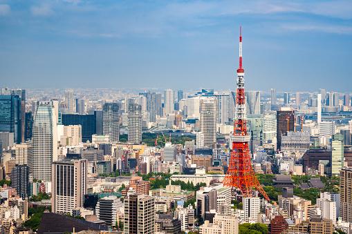 Tokyo Tower「Tokyo Skyline」:スマホ壁紙(2)