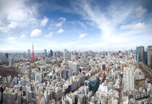 Tokyo Tower「Tokyo skyline」:スマホ壁紙(10)