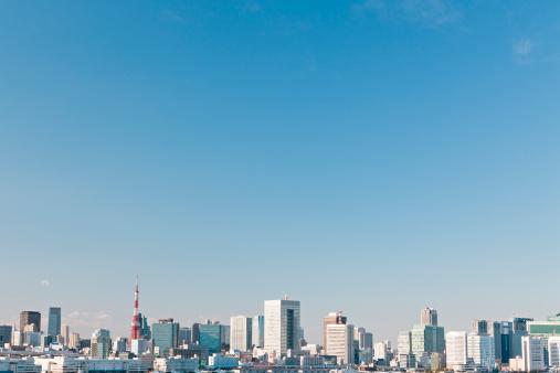 Tokyo Tower「Tokyo Skyline」:スマホ壁紙(7)