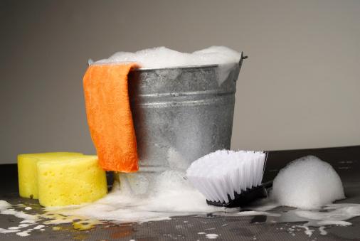Washing「Bucket and Supplies for Car Wash」:スマホ壁紙(5)