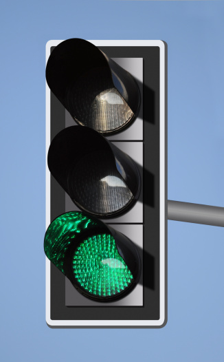 Pole「green traffic light」:スマホ壁紙(2)