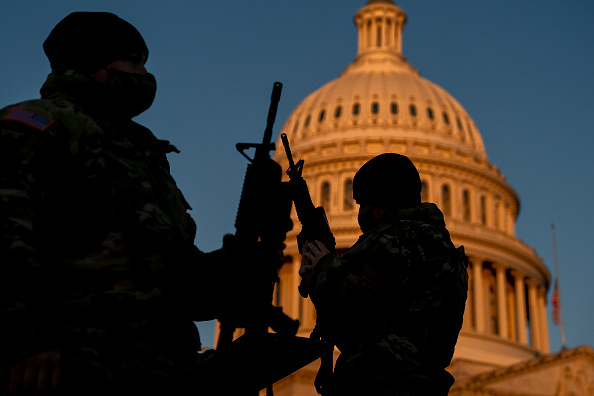 Capitol Hill「Washington, DC Prepares For Potential Unrest Ahead Of Presidential Inauguration」:写真・画像(7)[壁紙.com]