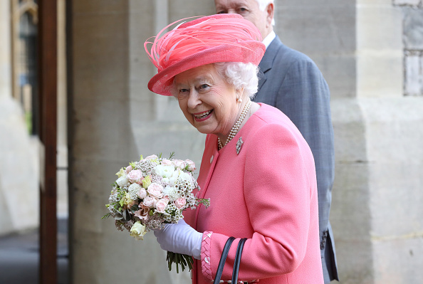 Two People「Her Majesty The Queen Starts The London Marathon」:写真・画像(14)[壁紙.com]