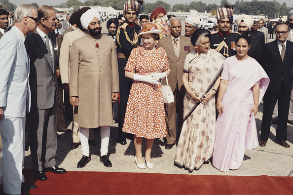 Visit「The Queen In India」:写真・画像(10)[壁紙.com]
