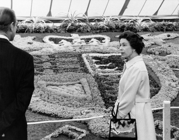 Flowerbed「Queen At Chelsea Flower Show」:写真・画像(3)[壁紙.com]