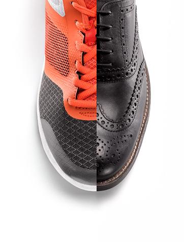 Shoe「Mans business shoe and trainer」:スマホ壁紙(7)