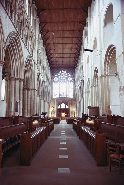 Architectural Feature「St Albans Nave」:写真・画像(1)[壁紙.com]