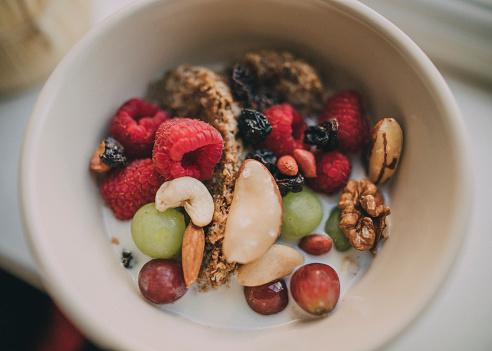 Nut - Food「Bowl of Cereal」:スマホ壁紙(12)