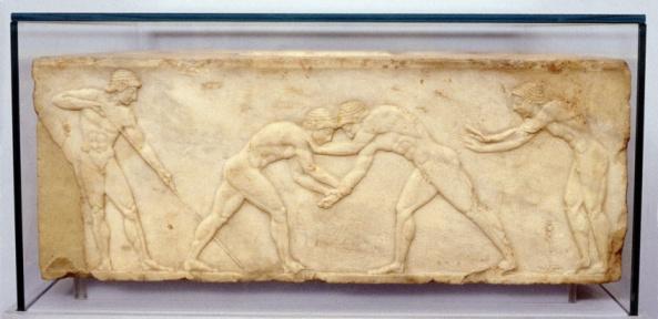 God「Fragment of bas-relief frieze 500 BC」:スマホ壁紙(8)