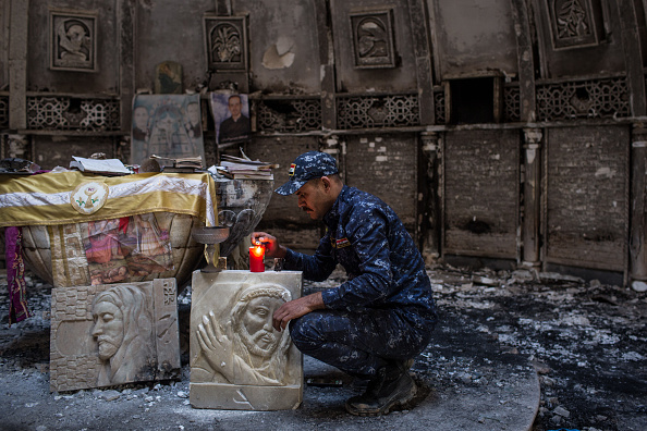 Christianity「Mosul Offensive Slows As Islamic State Resistance Intensifies」:写真・画像(12)[壁紙.com]
