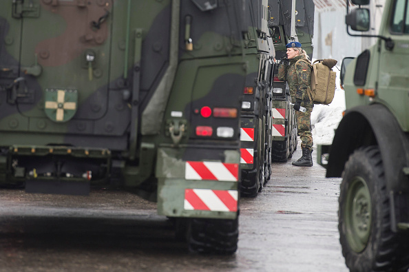 Jens-Ulrich Koch「Bundeswehr Ships Military Equipment To Lithuania」:写真・画像(15)[壁紙.com]