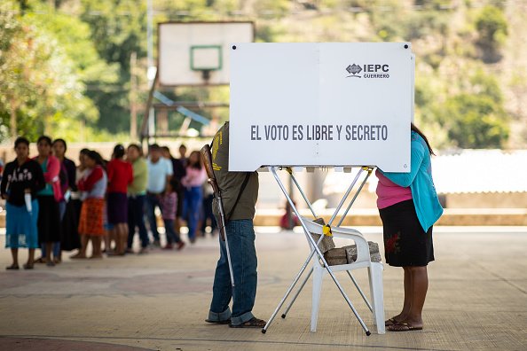Mexico「Mexicans Go To Polls In Midterm Elections Amid Coronavirus and After Violent Campaign」:写真・画像(4)[壁紙.com]