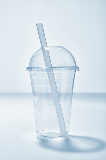 Take Out Food「Empty Cold Drink Takeaway Clear Plastic Disposable Cup and Straw」:スマホ壁紙(15)